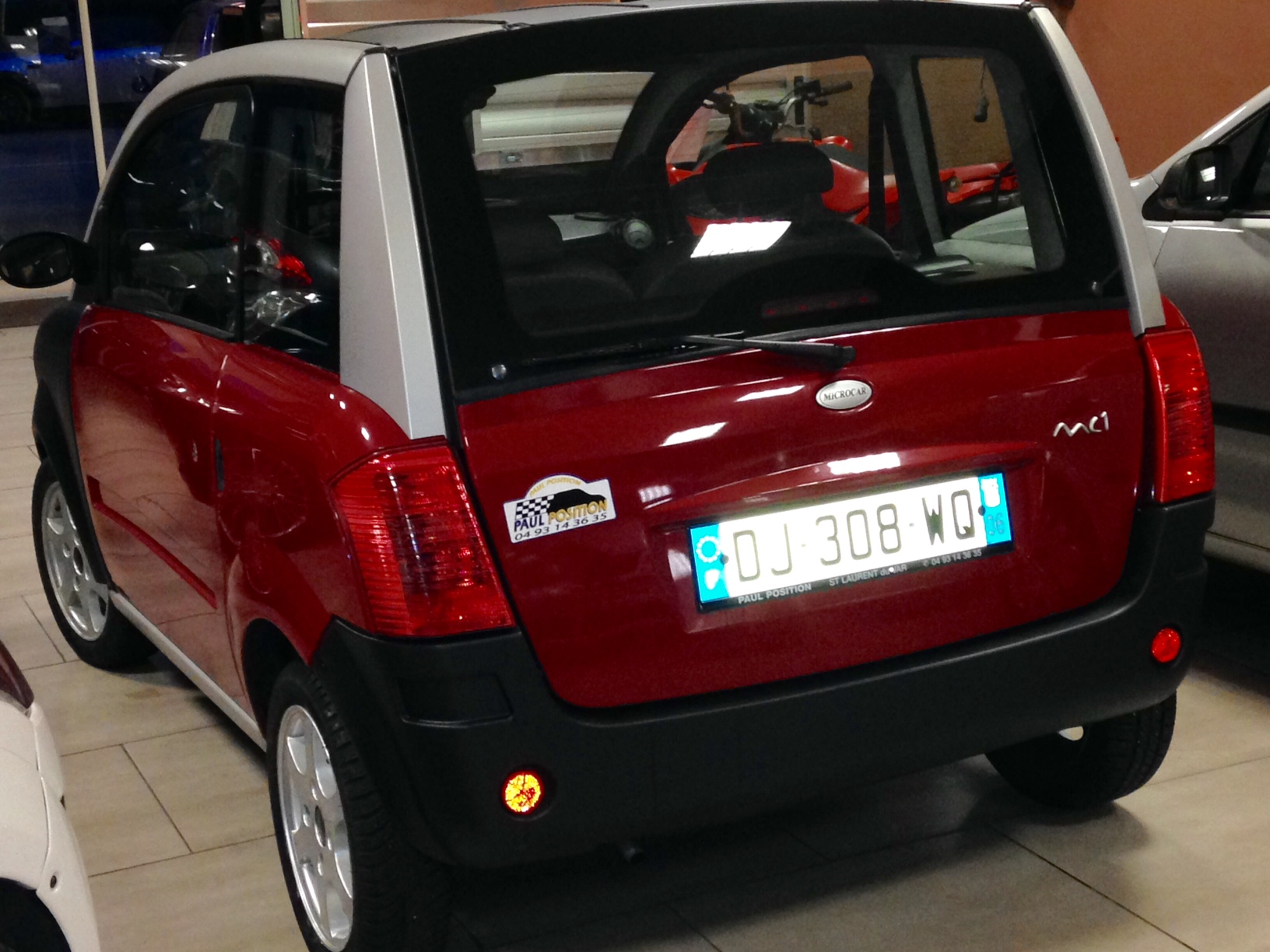 voiture sans permis microcar mc1 occasions nice alpes. Black Bedroom Furniture Sets. Home Design Ideas