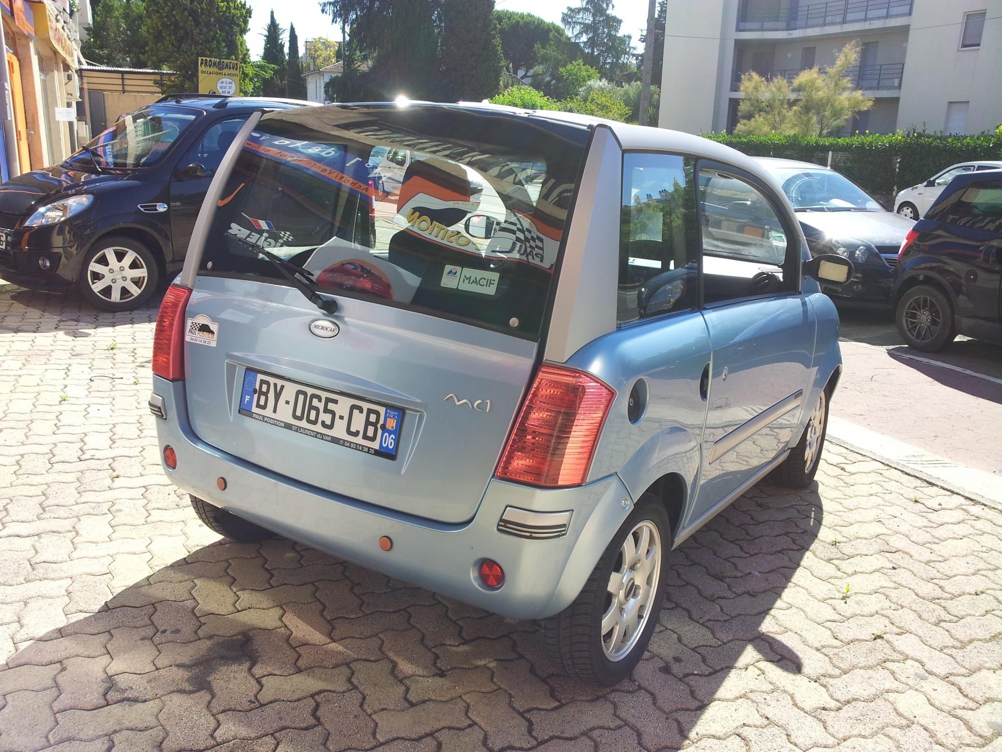 Microcar mc1 voiture sans permis le cannet occasions nice for Garage voiture sans permis nice