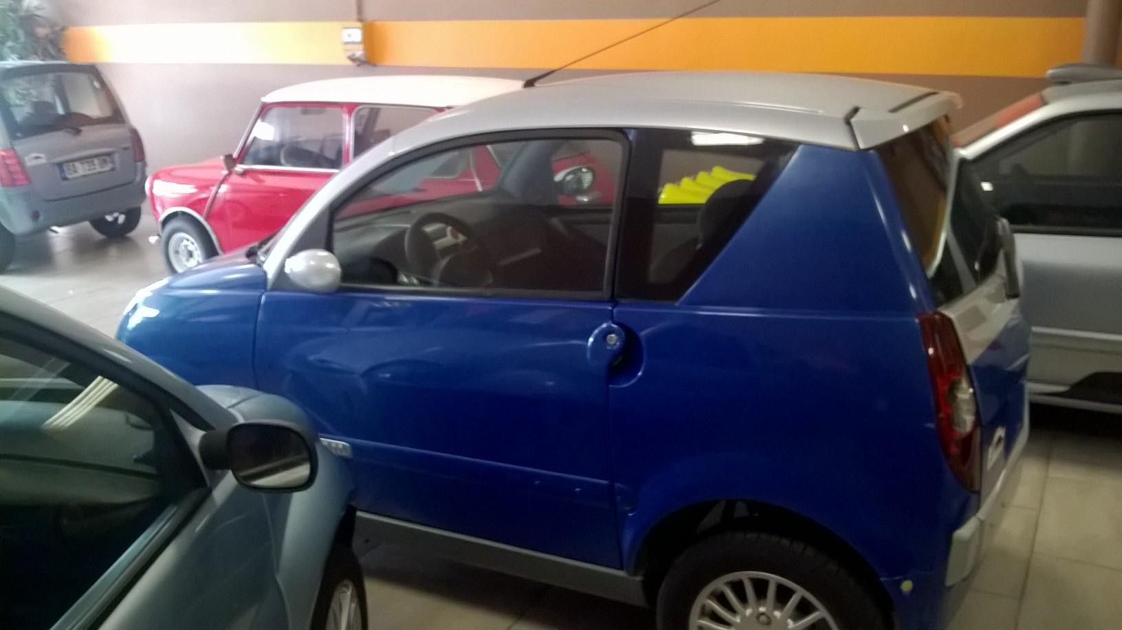 Aixam 721pack voiture sans permis occasions nice alpes for Garage voiture sans permis nice