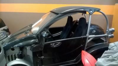 Ligier BE 2 sans permis avec kit bache et portes
